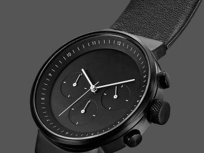Design: minimalistyczny zegarek