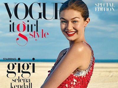 Gigi Hadid na okładce specjalnego Vogue