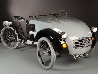 Designerski trycykl