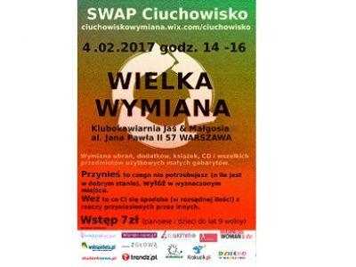 Kolejna edycja Ciuchowiska w Warszawie