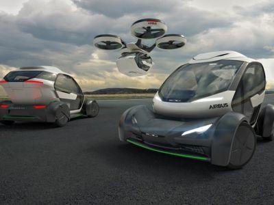 Hybryda drona i samochodu
