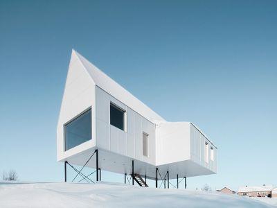 Designerski dom w Quebecu