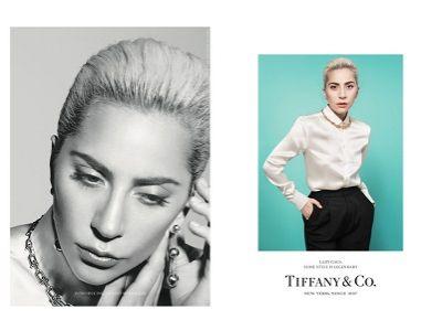 Elegancka Lady Gaga w kampanii Tiffany & Co.