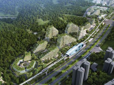 Trendy architektura: Wertykalne leśne miasto