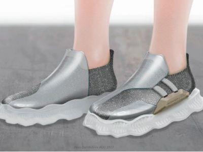 Koncepcyjne buty robota