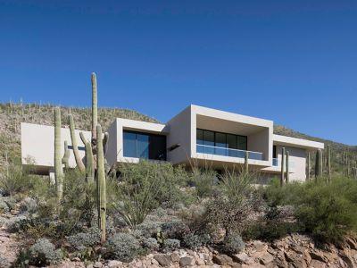 Architektura trendy: Modny dom na pustyni