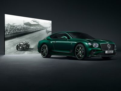 Moto trendy: Bentley Continental GT Number 9