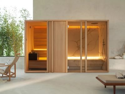 Design trendy: Wyrafinowana sauna do domu