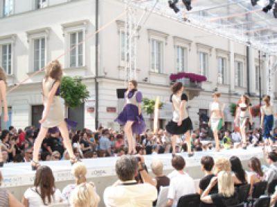 Moda. Warsaw Fashion Street.