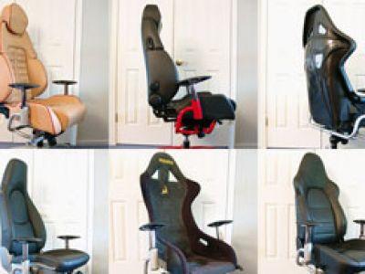 Wyścigowe krzesła.