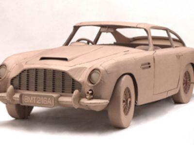 Aston Martin DB 5 agenta 007 w wersji ECO.