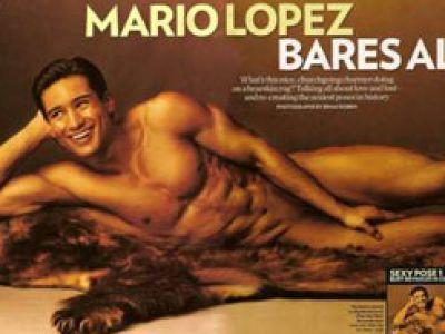 Mario Lopez - dla People pokazuje wszystko.