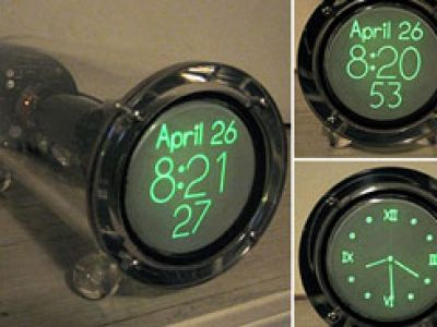 Postindustrialny zegar.