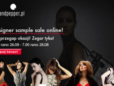 Designer sample sale online wystartowało!