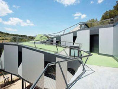 Mini-golf na dachu.