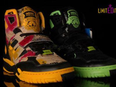 Jeremy Scott dla Adidas Originals.
