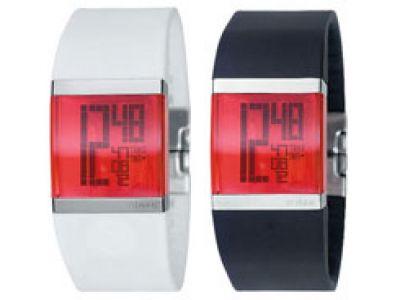 Philippe Stark - kryształowo czysty zegarek.