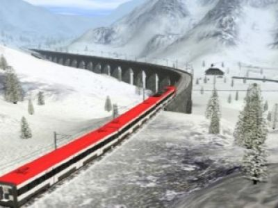 Trainz Simulator 2009(video)