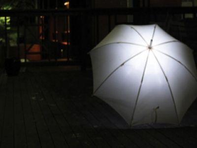 Chroni przed deszczem i oświetla drogę
