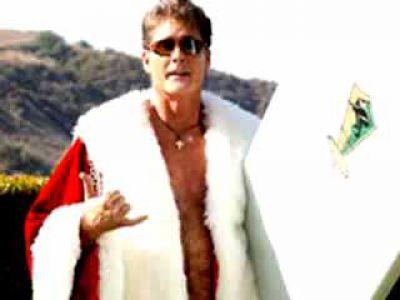 David Hasselhoff sprzedaje się jako Mikołaj