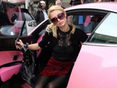 Paris Hilton okradziona z różowym Bentleyem