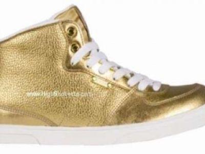 Złote Nike, Adidas oraz Converse