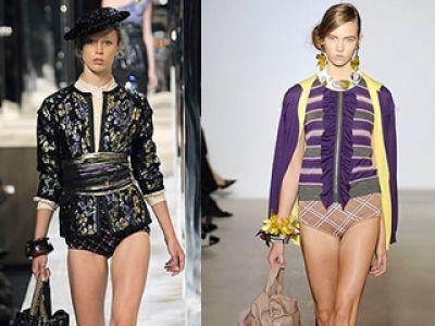 Dolce & Gabbana, Stella McCartney, Marc Jacobs – majtkowy trend 2009