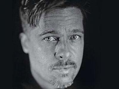 Brad Pitt bez retuszu