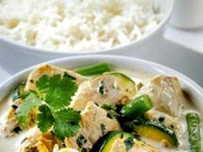 Tajskie curry z kurczaka
