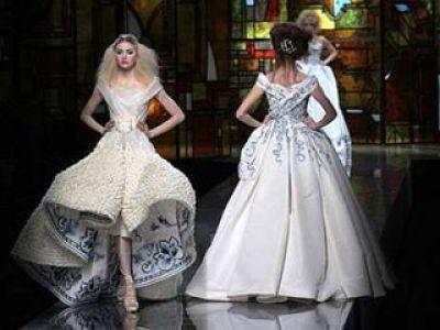 John Galliano wiosna lato Haute Couture 2009 (video)