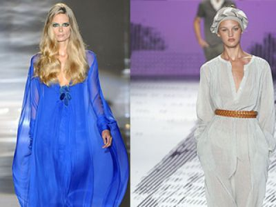 Marrakesz  - moda wiosna / lato 2009