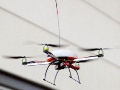 Internet w latającym helikopterze