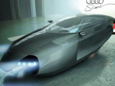 Latające Audi
