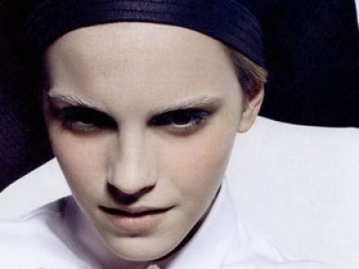 Emma Watson i Carl Lagerfeld
