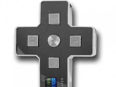 Mp3 player krucyfiks- dla katolików