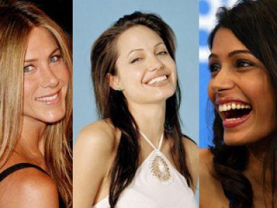Angelina Jolie, Jennifer Aniston i Freida Pinto  - co je łączy