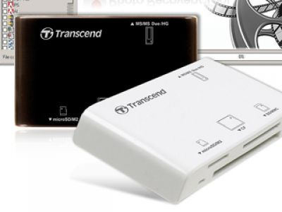 TRANSCEND- czytnik kart pamięci P8