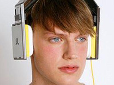 Stylowe słuchawki- Alp Horn Headphones