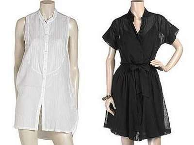 Męskie, damskie koszule - trendy 2009