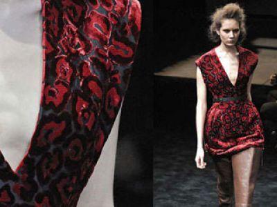 Prada moda jesień 2009 / zima 2010