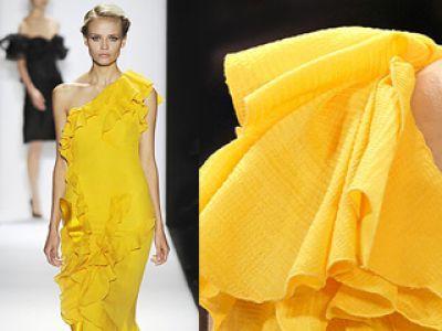 Żółty Marc Jacobs, Louis Vuitton oraz Mango - trendy 2009