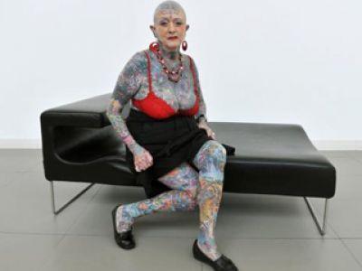 Tatuażowa babcia