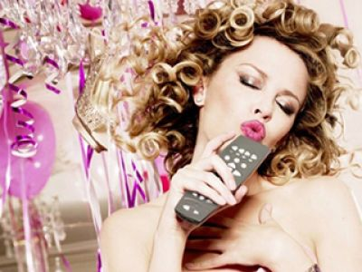 Kylie Minogue jak księżniczka z bajki