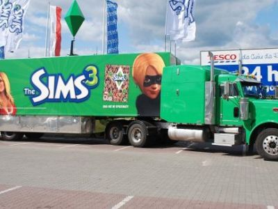 Ciężarówka The Sims 3!