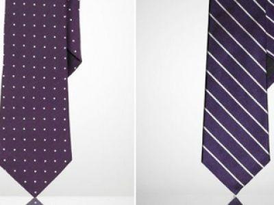 Krawaty Louis Vuitton, Ralph Lauren oraz Burberry
