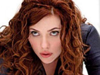 Scarlett Johansson w lateksie