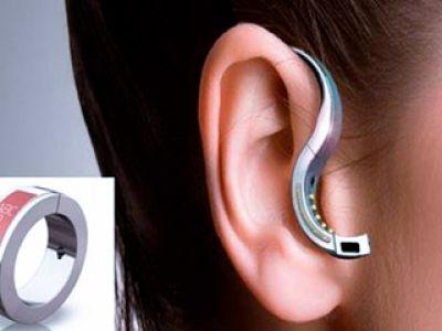 Modna słuchawka Bluetooth