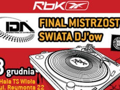 REEBOK MISTRZOSTWA ŚWIATA DJ - ÓW 2007