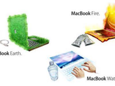 MacBook Earth, Fire, Water
