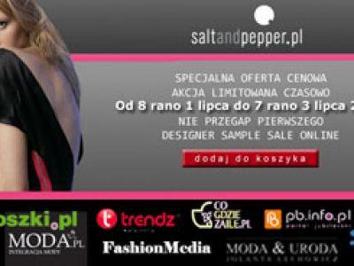 Saltandpepper.pl Online Designer Sample Sale